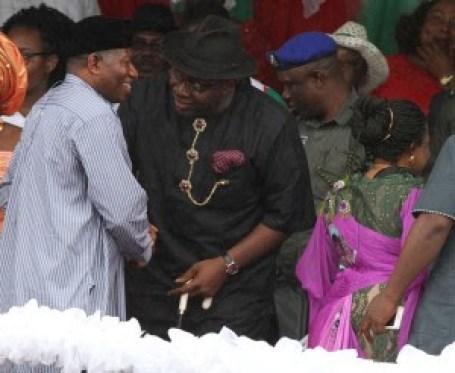 Former President Jonathan in Bayelsa 00