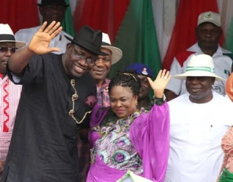 Former President Jonathan in Bayelsa 01