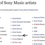 What You Need to Know About First African Artists to Ink Sony Music Deal : Davido Signed Sony Music Deal, But Not First African to Ink that Deal, D'banj also Listed