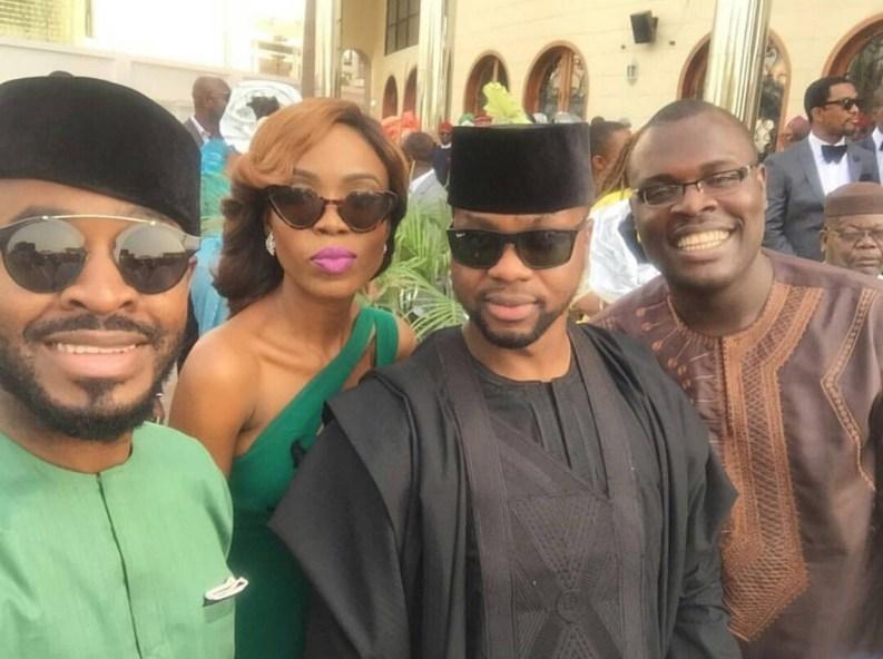OC Ukeje, Kemi Lala Akindoju, Adebola Williams and Chude Jideonwo