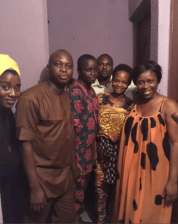 Olajumoke Orisaguna and family