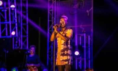 Adekunle Gold at the 2016 Gidi Fest