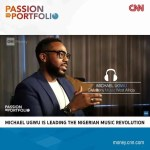 "CNN "" Passion To Portfolio"" takes on Leading Nigerian Music Revolution and GM of Sony Music West Africa, Michael Ugwu Micheal Ugwu Featured on CCN's"