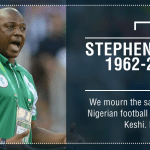 From Atiku to Aregbesola, Oliseh to Amokachi, D'banj, Banky W, Femi Kuti, Peter Okoye and Others Mourns and Pays Tributes to Former Super Eagles Coach Stephen Keshi who Dies at 54