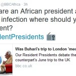 "BBC Africa Shade President Buhari : Was Buhari's Trip to London "" Medical Tourism ""?"