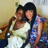 Toyin Aimakhu and Cancer Patient Ahmed Mayowa Shukurat