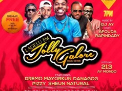Lagelu FM Host Mayorkun & Dremo in Ibadan