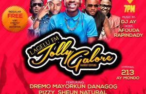Lagelu FM Host Mayorkun & Dremo in Ibadan