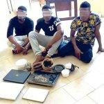 Police Nabbed Three Yahoo Yahoo Boys with Juju in Ibadan