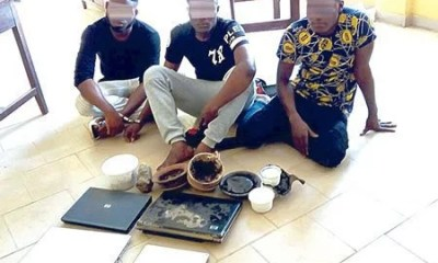 Yahoo Yahoo Boys Arrest in Ibadan