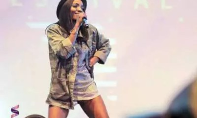 Simi performing at the Soundcity MVP Awards 2016