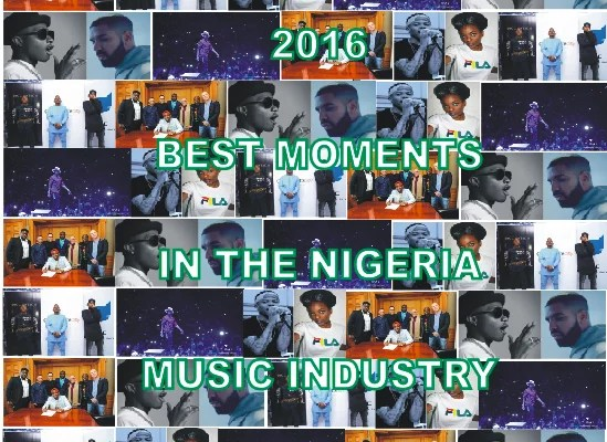 2016 Best Moments in the Nigeria Music Industry