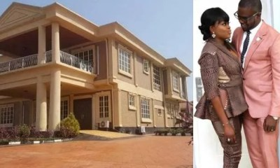 Funke Akindele and JJC Skillz New Mansion in Lagos