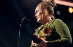 Adele at 2017 Grammy Awards
