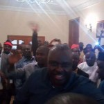 Photo News : Mammoth Crowd Welcomes James Ibori as He Arrives Home Town in Delta