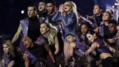Lady Gaga Super Bowl Half-time Performance 00