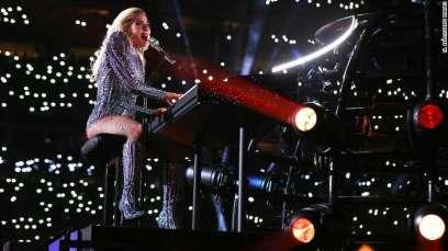 Lady Gaga Super Bowl Half-time Performance 05