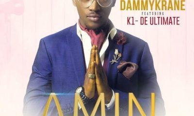 Dammy Krane -- Amin (Remix) Ft. K1 De Ultimate Cover Art