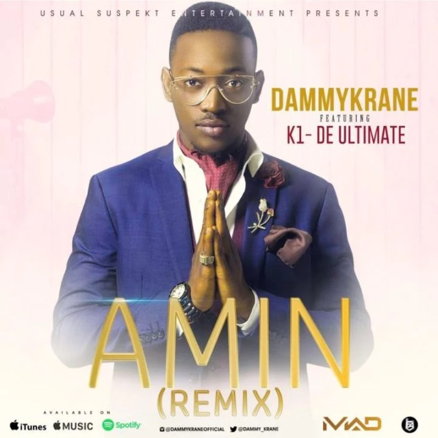 Dammy Krane -- Amin (Remix) Ft. K1 De Ultimate Cover Art