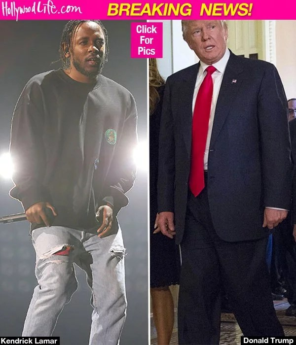 Kendrick Lamar and Donlad Trump