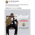 Nigerians Reacts to Korede Bello Performance at Latter Rain Assembly