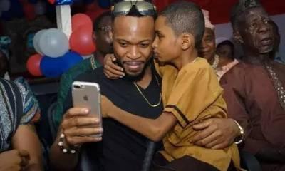 Liberian BLIND boy Semah G Weifur who sings Flavour's songs better than him