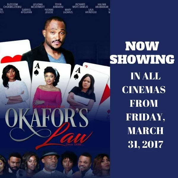 Okafors Law to Start Showing in Cinema