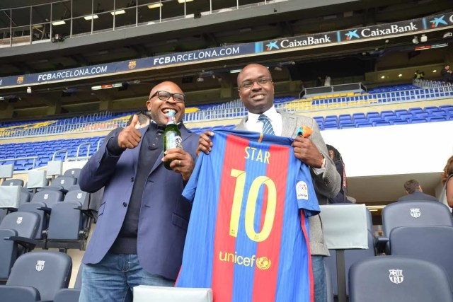 Star Lager Beer and FC Barcelona 03
