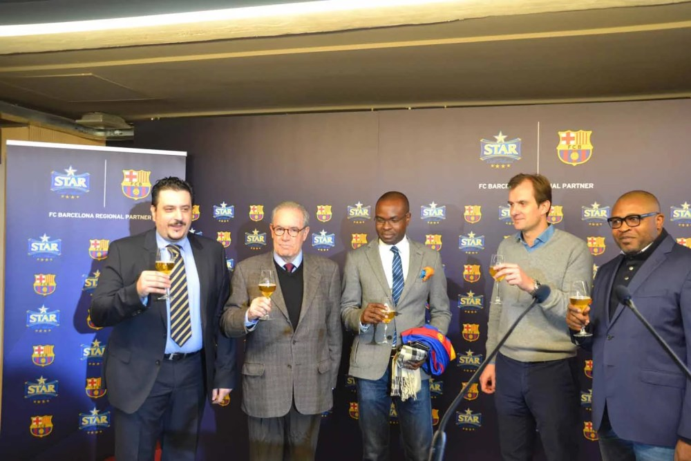 Star Lager Beer and FC Barcelona 04
