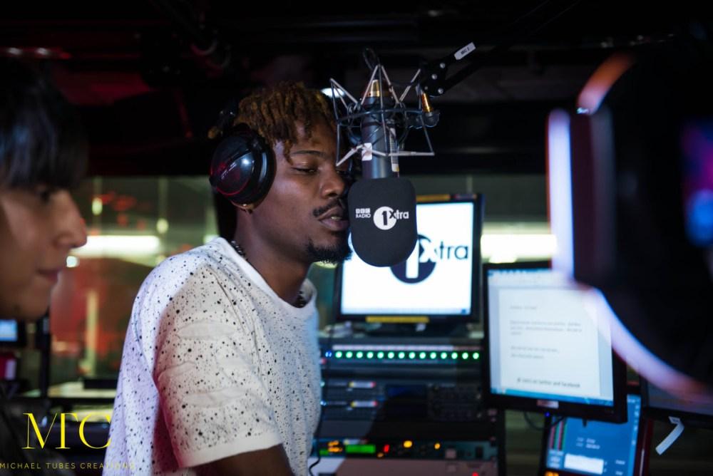 Ycee on BBC Radio 1 Xtra 03