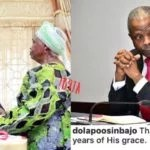 Happy 60th Birthday to Nigeria's Acting President Prof. Yemi Osinbajo + Birthday Cake He Receives from His Mother