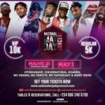 """Ibadan Set to Take from """" Mad Over You """" Wine as Runtown Alongside with Sir Shina Peters Oristefemi, Woli Arole and Other Headlines for National May Day Concert in Ibadan"""