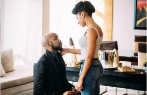 Adesua Etomi & Banky W Are Engaged