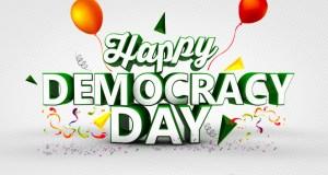 Happy Democracy Day to Nigeria
