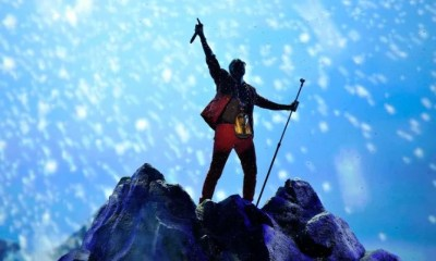 Kanye West on Mountain