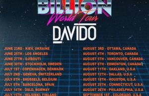 Davido 30 BIllion World Tour