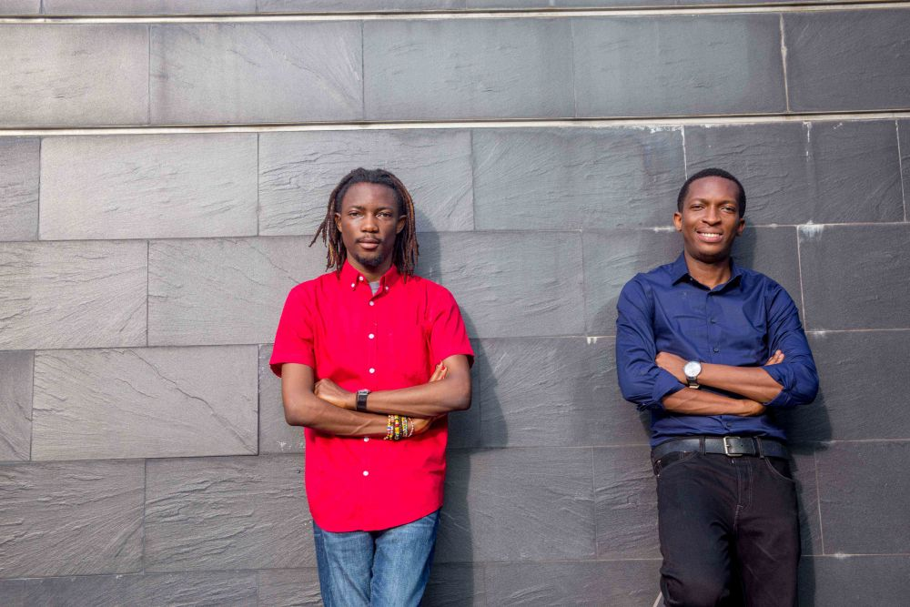 Founders of Paystack -- Sola Akinlade and Ezra Olubi