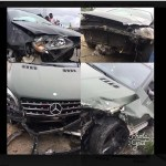 #HallelujahChallenge : Nathaniel Bassey Survives Ghastly Car Accident