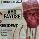 """"""" Comes 2019, I will Defeat President Buhari in Free & Fair Election """" Ayodele Fayose"""