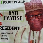 """ Comes 2019, I will Defeat President Buhari in Free & Fair Election "" Ayodele Fayose"