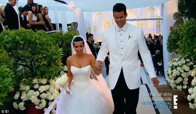 Kim Karadshian First Wedding