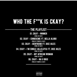 Who The Fuck Is CKay 00