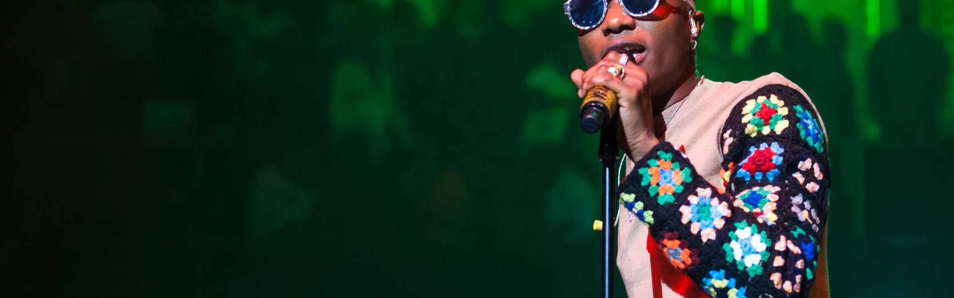Wizkid Mades Histroy at Royal Albert Hall in London
