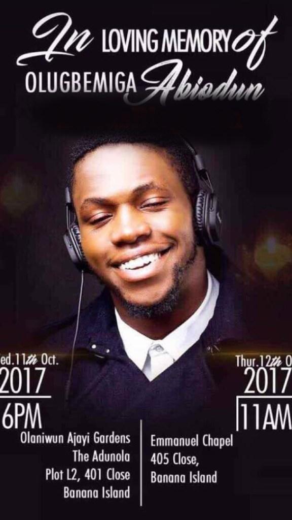DJ Olu Burial Details 00