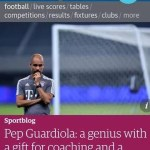 Where are the Defensive Genius Team as Pep Guardiola Keeps Winning Against All Odds by Jide Johnson Leoso