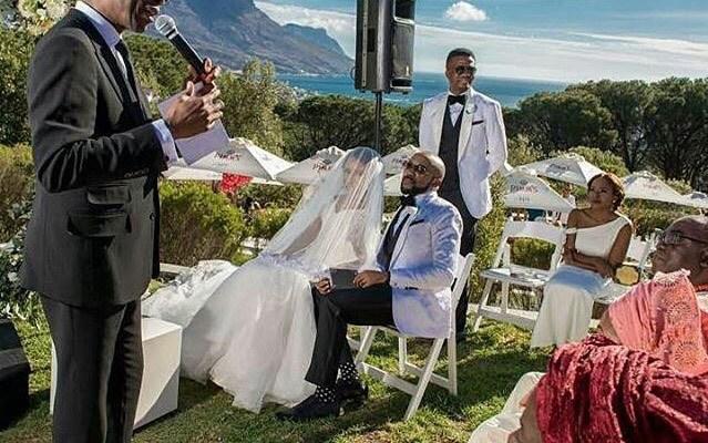 Banky W & Adesua Etomi White Wedding Pictures 07