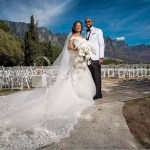 #BAAD2017 : Photos from Banky W & Adesua Etomi's White Wedding in South-Africa