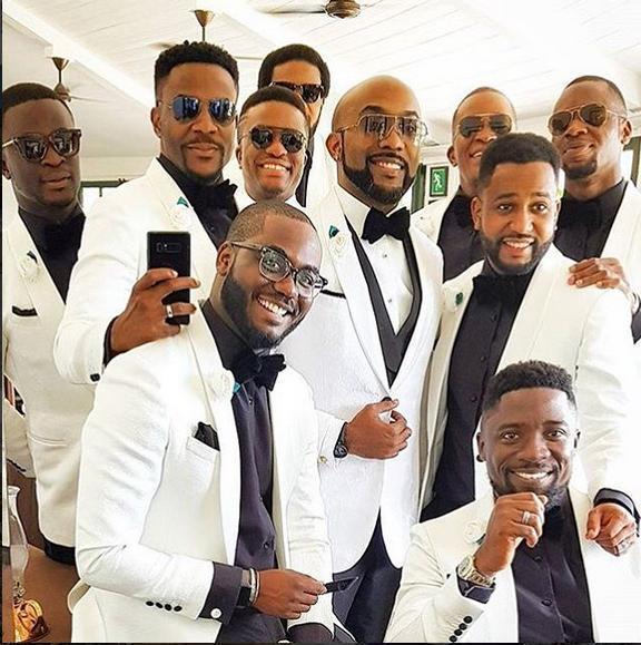 Banky W White Wedding in SA 03