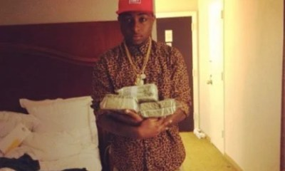 Davido with Money