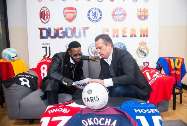 Dbanj Launches CREAM Sports 02